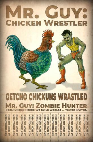 Mr. Guy: Chicken Wrestler