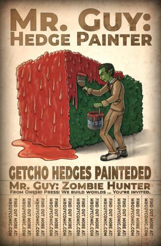 Mr. Guy: Hedge Painter