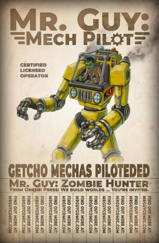 Mr. Guy: Mech Pilot